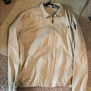 Brown polo Ralph Lauren pull over